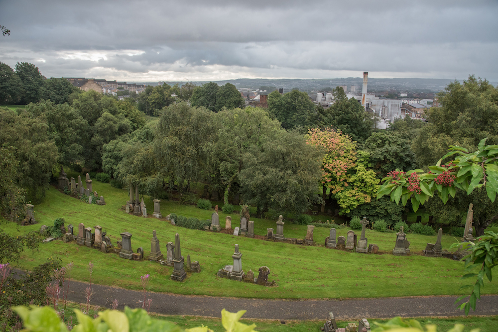 necropolis-glasgow-cemetery-historic-church-tombstones-scotland-buddha-drinks-fanta-jenny-adams-photographer-writer-travel-europe-view