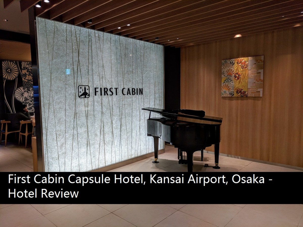 Cabin Capsule Hotel Kansai Airport Osaka