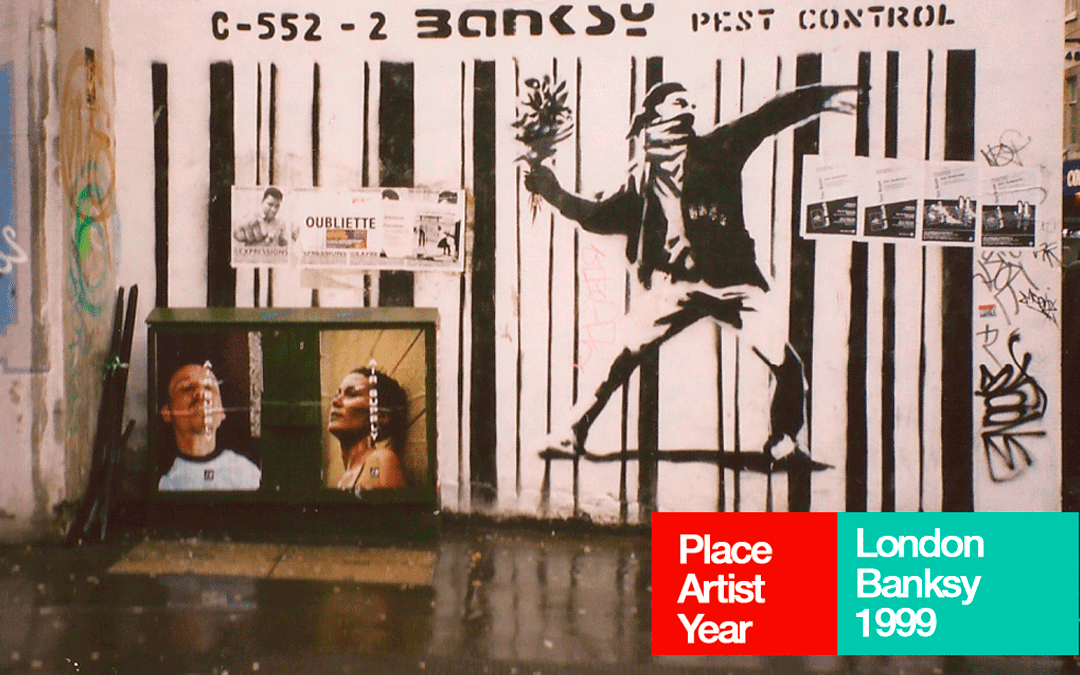 Weekly Novel Clicks Painting on the walls with Banksy and friends
