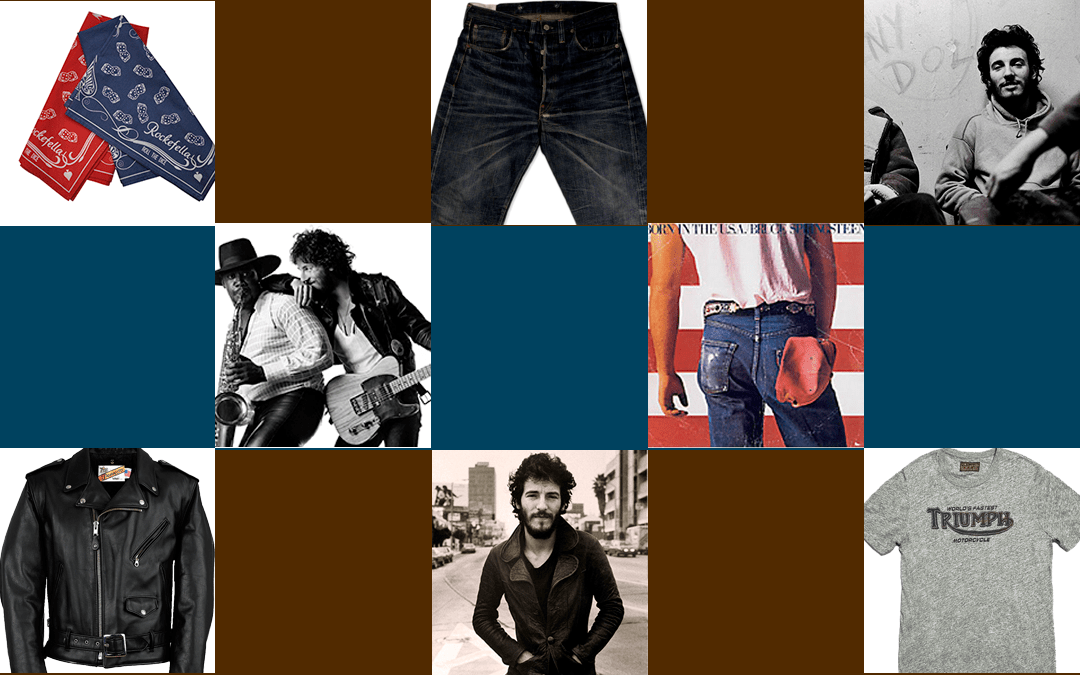 Bruce Springsteen Fashion Lookbooks And Denim Icon
