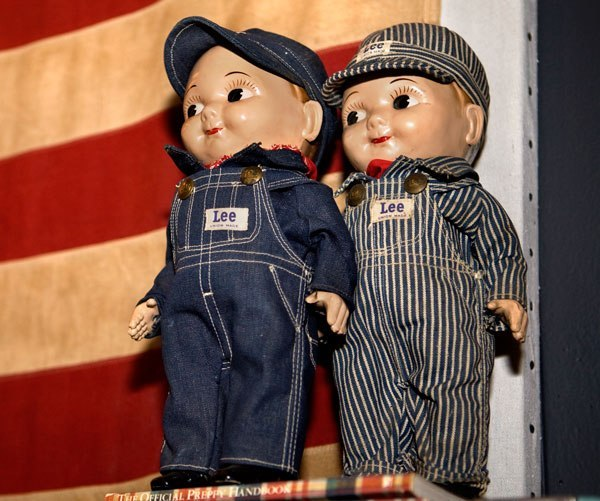 Buddy Lee dolls
