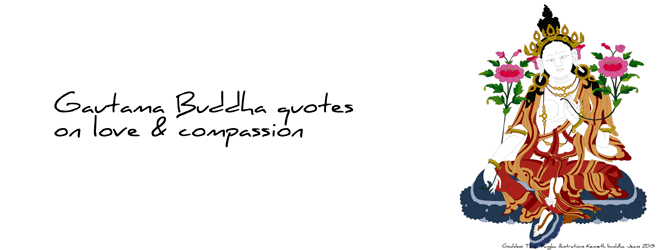 Buddha quotes on love and compassion