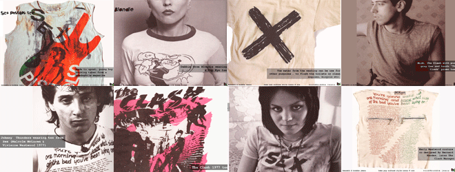 D.I.Y. Punk Tees History And Fashion Lookbooks