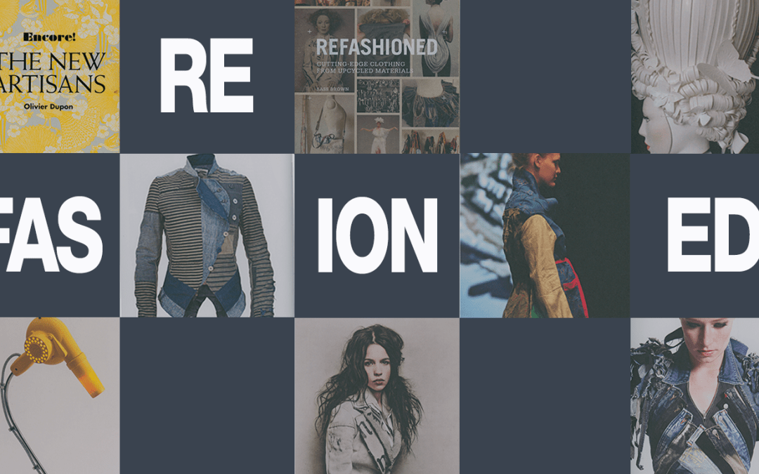 Refashioned, cutting edge clothing from upcycled materials. Part One
