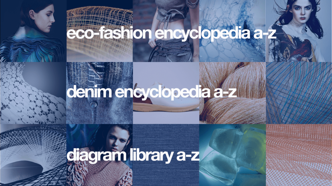 Eco-Fashion Encyclopedia, Denim Encyclopedia and Diagram Library. Graphics Kenneth Buddha Jeans