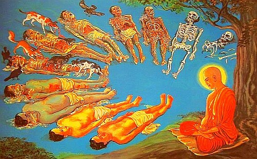 Image result for death meditation buddhism