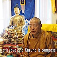 "Video teaching: Metta and Karuna, the ""most important"" Buddhist practices of Love and Compassion, from H.E. Zasep Tulku Rinpoche with Lama Tsongkhapa Migtsema mantra chanted by Yoko Dharma"