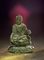 Helgö Buddha from Northeast Indian