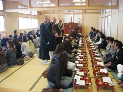 Tradizionali shonin ryori (tradizionale pasto vegetariano)