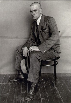 The communist poet Vladimir Mayakovsky