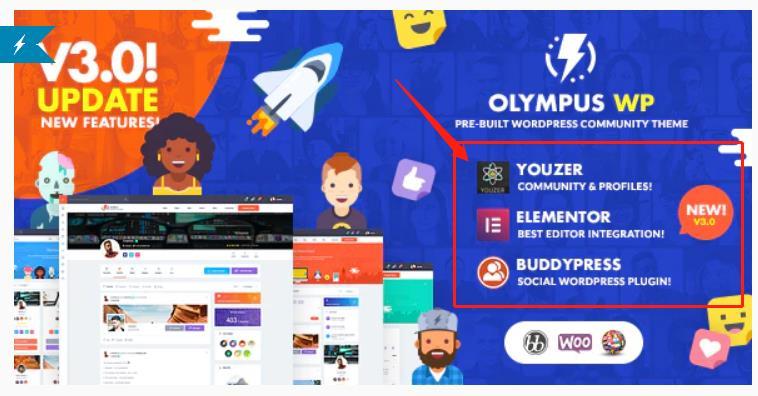Olympus Theme Bugs