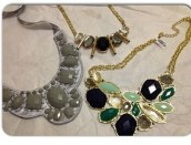 Francesca's necklaces, $24 total