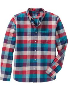 $10 men's plaid top