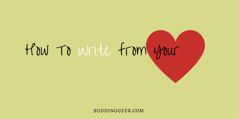 How To Write From Your Heart - Poster