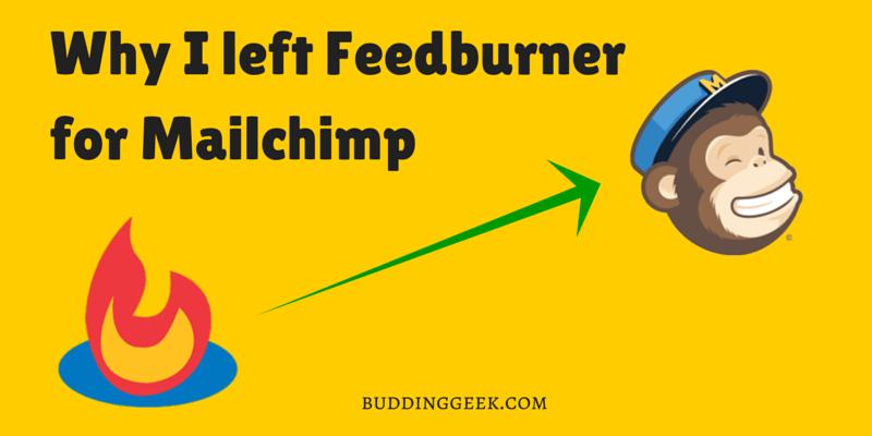 Feedburner to Mailchimp - Poster