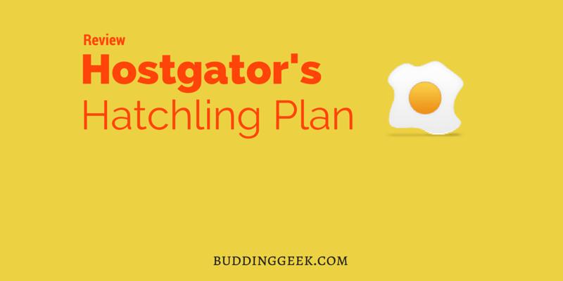 Hostgator Hatchling Plan Review