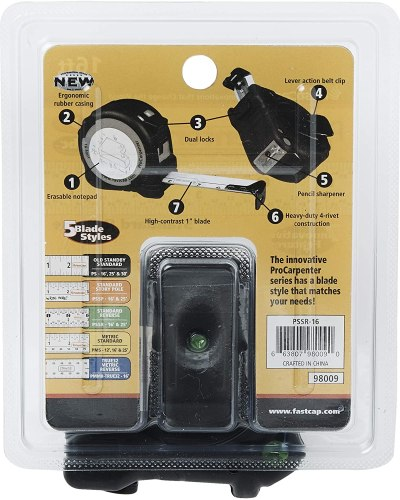 FastCap Measuring Tape features