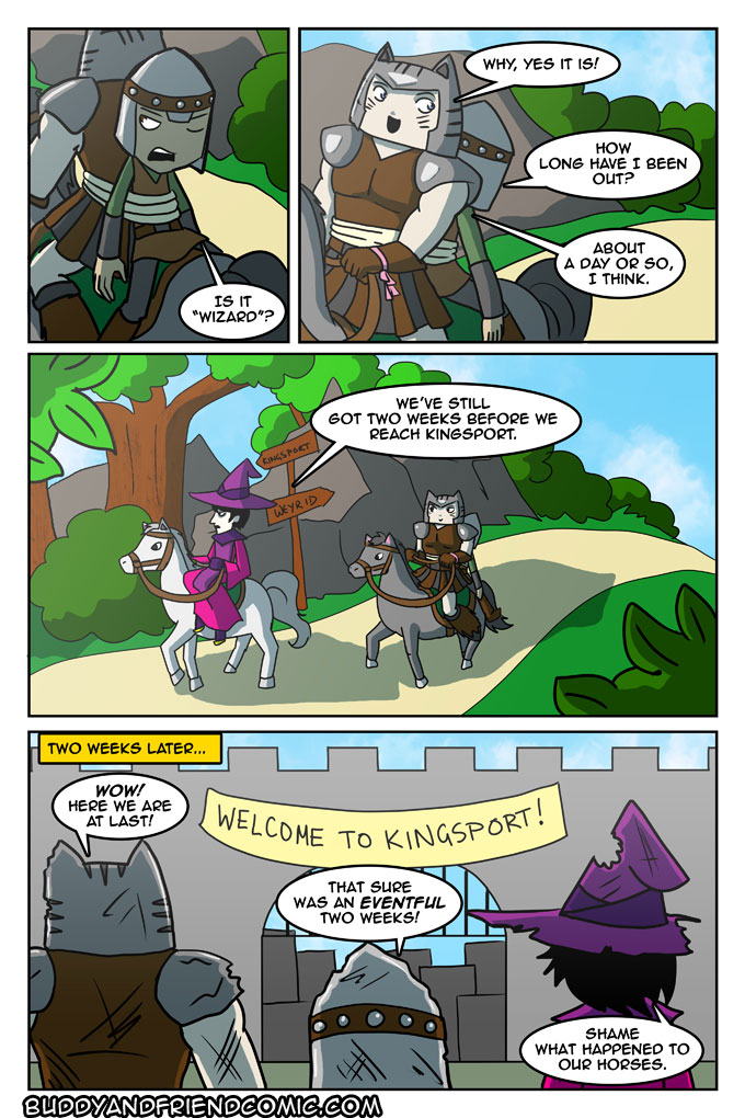 Horses were harmed in the making of this comic.