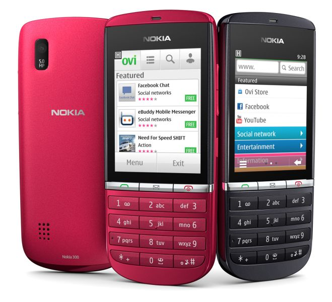 Nokia Asha 300 for just Rs. 7409 in India