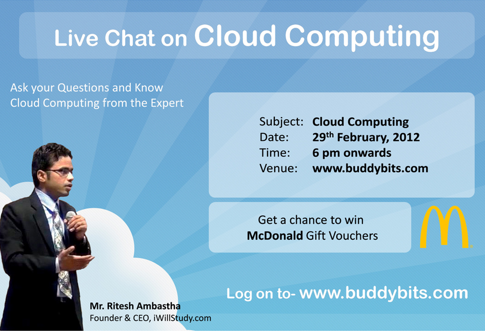 Chat Transcript: Live Chat on Cloud Computing with Mr. Ritesh Ambastha