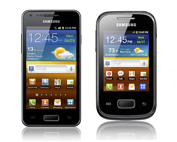 Samsung Galaxy S Advance and Pocket launched in India