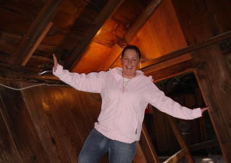 Visit Mystery Spot near Santa Cruz, California