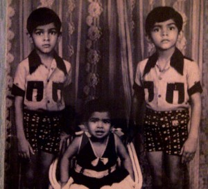 MTV Roadies Raghu Ram and Rajiv Lakhshman with Sister