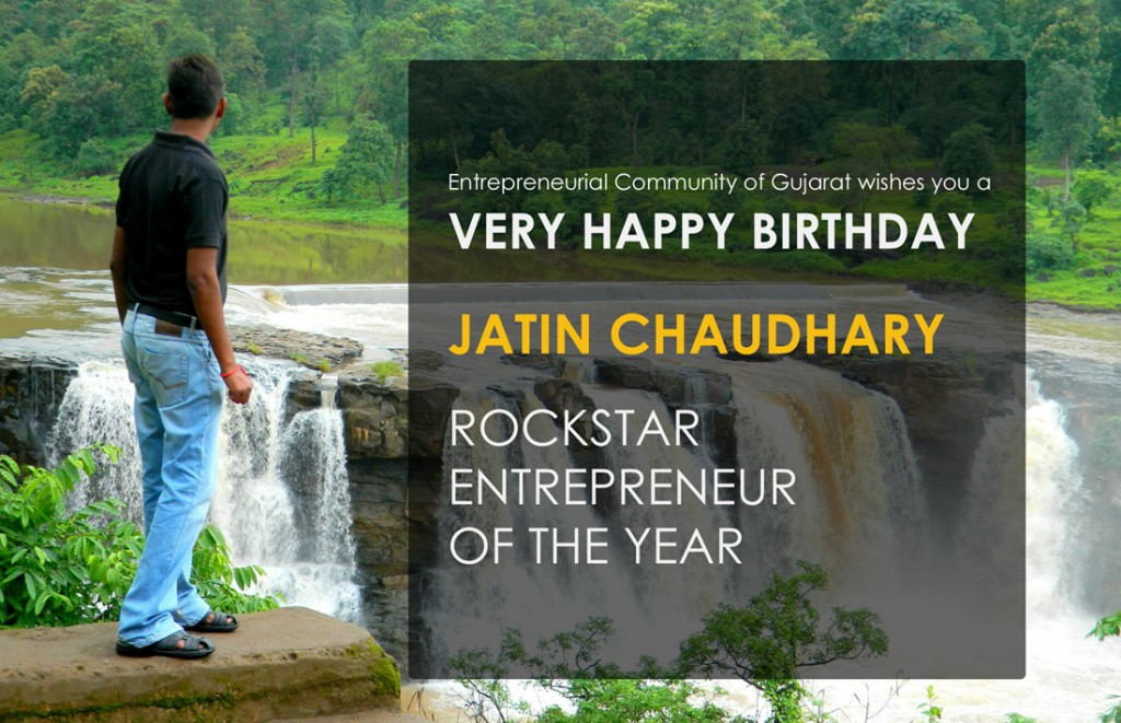 Jatin Chaudhary Rockstar Entrepreneur of the year