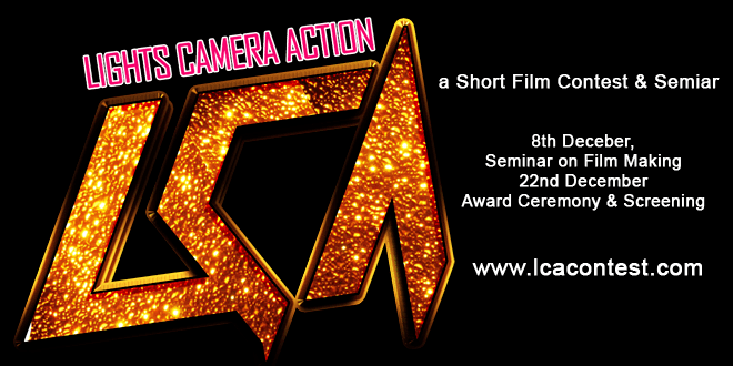 Lights Camera Action, a short film making contest to be organized in Gandhinagar