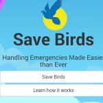 Save Birds App Snapshot