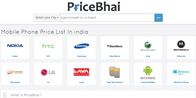 [Startup Talk] Purchase mobiles at the lowest price using PriceBhai