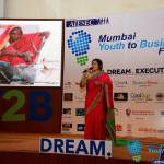 Chetna Sinha at AIESEC Mumbai's Youth to Business Forum