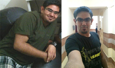 Kushal Sharma in September 2013 and February 2014