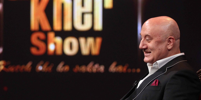 [Tele Review] The Anupam Kher Show- not so entertaining!