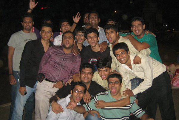 Nishant Dalal and his Group at Reunion in 2011