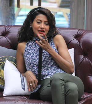 Nigar Khan in Bigg Boss 8