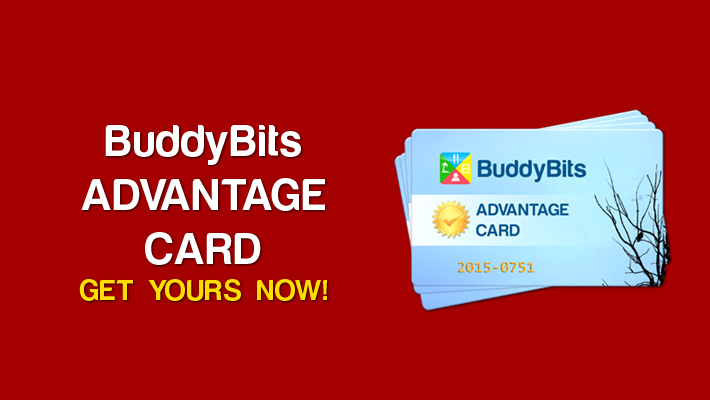 BuddyBits Advantage Card Featured