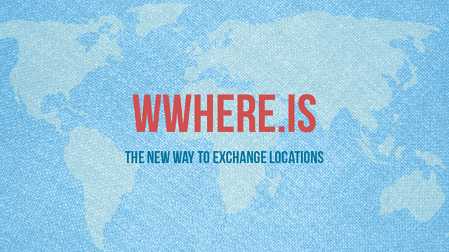 Addresses are about to become obsolete with wWhere