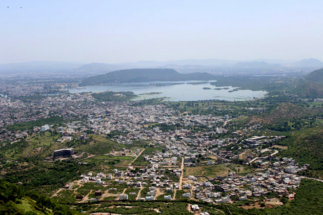 View from Monsoon Palace - Things to do in Udaipur