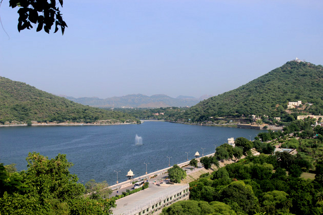 View from Pratap Smarak - Things to do in Udaipur