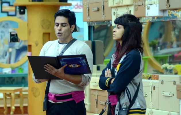 Kishwer Merchant backstabs Aman Verma on Bigg Boss 9