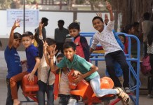 Here is how Surti youth bring colors in life of students