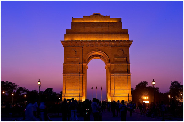 Delhi Gate Incredible India