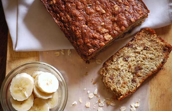 Oat Bread Banana