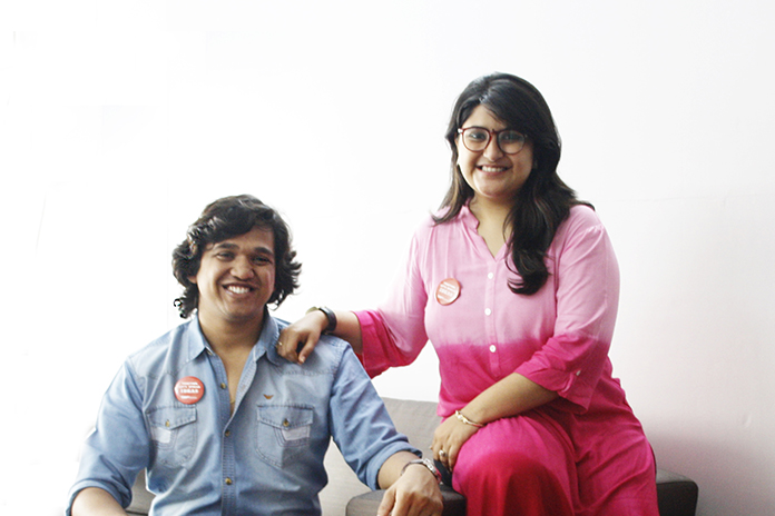 An entrepreneur couple who fell in love while working together!