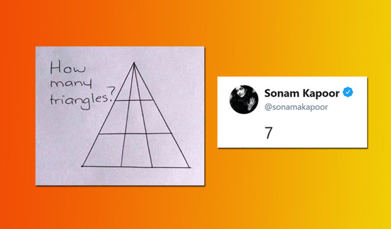 Can You Solve This Puzzle Which Sonam Kapoor Couldn't?