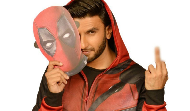 Ranveer Singh Is Roped In To Dub Hindi Version Of Deadpool & We Can't Hold Our Excitement!