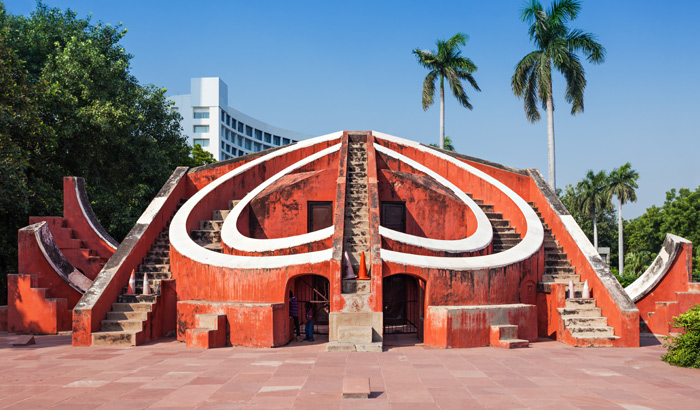 One of the Mathematical place in India Jantar Mantar