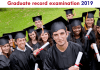 Graduate record examination 2019