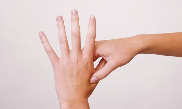 Acupressure - Gives instant from menstrual cramps